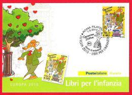 [MD0426] CPM - GERONIMO STILTON - POSTE ITALIANE - GIORNO DI EMISSIONE - CON ANNULLO 7.5.2010 - Non Viaggiata - Fiabe, Racconti Popolari & Leggende