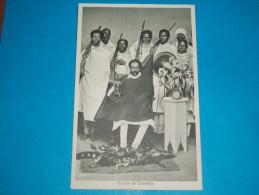 Afrique : Ethiopie ) Groupe De Guerriers - Année  - EDIT : Giannopoulos - Ethiopia