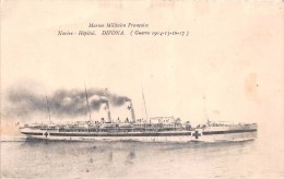 "¤¤  -  Marine Militaire Française  -  Navire-Hôpital "" DIVONA ""  -  Guerre 1914-18  -  ¤¤ - Guerra"