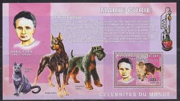 Congo 2006 Marie Curie M/s PERFORATED ** Mnh (F4982) - Democratische Republiek Congo (1997 - ...)
