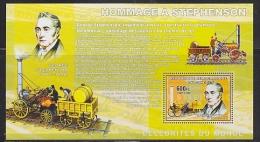 Congo 2006 Stephenson / Train M/s ** Mnh (F4983) - Ongebruikt