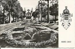 Principaute De Monaco - Monte Carlo, Le Casino Et Les Jardins- 1956 - Monte-Carlo