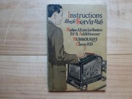 MACHINE A ECRIRE BURROUGHS CLASSE 100 - Pubblicitari