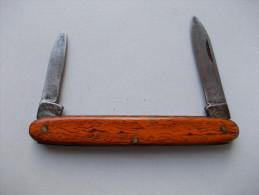 - Couteau. Canif - Ancien Couteau 2 Lames - - Couteaux