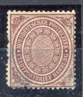 Altdeutschland  Norddeutscher Postbezirk   Stadtzustellbezirk Hamburg   Mi.  24 (*)    Siehe Bild - Norddeutscher Postbezirk