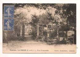 Robinson La Croix Vue D'ensemble Photo Massoteau Amboise - France