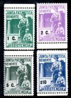 Y1777 - SPAGNA Assistencia Junta Patriottica Do Norte 4 Valori *** Punti Di Colore In Gomma - Emissioni Nazionaliste