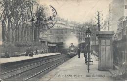CPA, Paris, Passy, Gare Du Ramelagh - Stazioni Con Treni