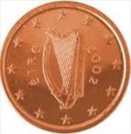 Ierland 2002    1 Cent  UNC Uit De Zakjes  UNC Du Sackets  !! - Irlande
