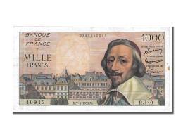 1000 Francs Type Richelieu - 1871-1952 Antichi Franchi Circolanti Nel XX Secolo