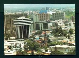 GUATEMALA  -  Panorama Of Guatemala City  Unused Postcard - Guatemala