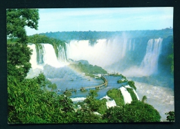 BRASIL  -  Iguacu Falls  Unused Postcard - Brazil