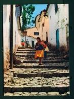 BRASIL  -  Cusco  San Blas Suburb  Unused Postcard - Peru