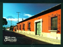GUATEMALA  -  La Antigua  Unused Postcard - Guatemala