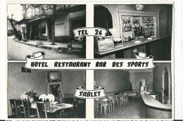 CPSM 84 SABLET HOTEL BAR DES SPORTS MULTIVUES PEU COURANTES - France