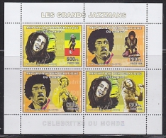 Congo 2006 Jazzmans M/s ** Mnh (F4984) - Dem. Republik Kongo (1997 - ...)