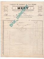Montluçon, Mery, Fabrique De Chapeaux, Modiste, Lapins Et Mérinos, Faoubourg Saint-Pierre, Facture XIXe - France