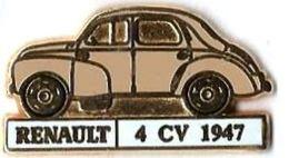 R32 - RENAULT 4 CV 1947 - Verso : CEF - Renault