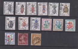 France //   Lot De Timbres Taxe - 1960-.... Oblitérés