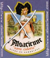 Sous Bock - L Alsacienne Sans Culotte - Sotto-boccale