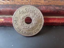 LIBAN - 1 PIASTRE 1931- ETAT DU GRAND LIBAN- SUP- VOIR PHOTOS - Liban