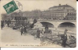 CPA, Paris ( IV ) Le Marché Aux Fleurs - District 04