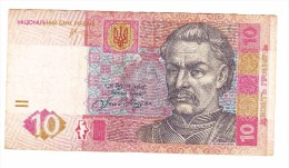 Ukraine 10 Hryvnia  Banknote - Ukraine