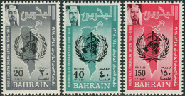 Bahrain 1968. Michel #165/67 MNH/Luxe. 20 Years World Health Organization (WHO). (TS15) - Bahrain (1965-...)