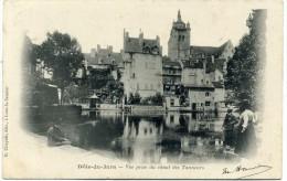 39 - Dole  Du Jura - Vue Prise Du Canal  Des Tanneurs  ( Carte Précurseur  De  1903 ) - Dole