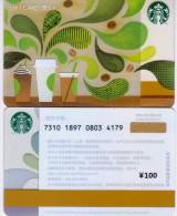 China Starbucks Coffee Gift Card Green Tree 1pc - Chine