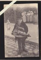 Nantes - Musique - Vielle - Un Artiste Populaire - Coll Thuret (pionniere) Pere Zim-zim Musicien Des Rues - Nantes