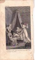 18*. MORT D'unE AMIE. DEFRAISNES. LETELLIER. - Prints & Engravings