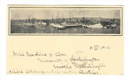 Motiv Schiffe -  Hafen Von Seattle - Private Mailing Card Ges. 3.7.1902 Nach Kienzheim - Seattle