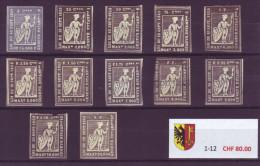 800 - GENEVE - Fiskalmarken - Steuermarken