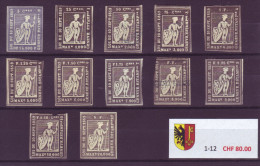 800 - GENEVE - Fiskalmarken