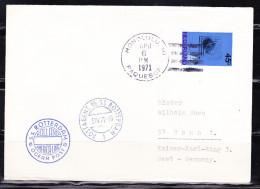 """B-1725, Niederlande; Schiffspost """"S.S. ROTTERDAM"""", PAQUEBOT-Stempel HONOLULU; MiNr. 947 - Sonstige"""