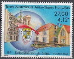 TAAF 2000 Yvert 286 Neuf ** Cote (2015) 16.70 Euro Délocalisation Du Siège - Neufs