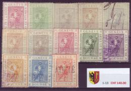 802 - GENEVE - Fiskalmarken - Steuermarken
