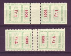 806 - RENENS - Fiskalmarken - Fiscaux
