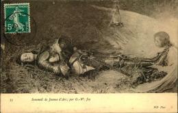 SOMMEIL DE JEANNE D ARC PAR G W JOY - Pittura & Quadri