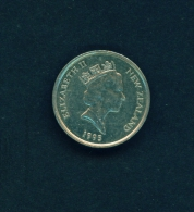 NEW ZEALAND  -  1995  5c  Circulated Coin - New Zealand
