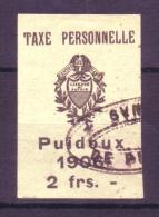 815 - PUIDOUX - Fiskalmarke - Fiscaux