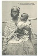 AFRIQUE - SENEGAL - DAKAR - (42) - Femme Et Enfant Ouolof - CPA - Senegal