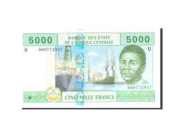 États De L'Afrique Centrale, 5000 Francs, 2002, KM:209U, Undated, NEUF - États D'Afrique Centrale
