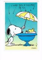 Illustrateur - SCHULZ - J'aime Bien M'occuper De Toi - Chien Parapluie Pluie - Hallmark - Schulze, Hans Rudolf