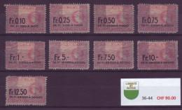 823 - VAUD - Fiskalmarken - Fiscaux