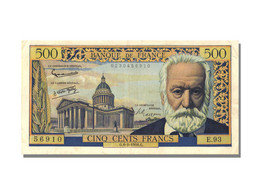 500 Francs Type Victor Hugo - 1871-1952 Anciens Francs Circulés Au XXème