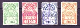 831 - VAUD - Fiskalmarken - Fiscaux