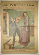 Le Petit Parisien 02/01/1910 - La Robe Tragique - Dessins De Haye (illustrateur) - La Baronne Vaughan - Non Classés