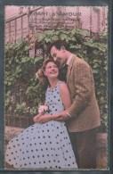 CARTE PHOTO COUPLES - Chant D'Amour - Couples